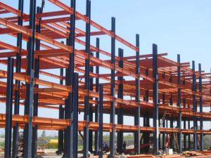 دانلود پروژه کامل سازه های فولادی